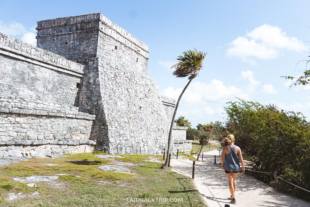 We had a great time while visiting Tulum Ruins.