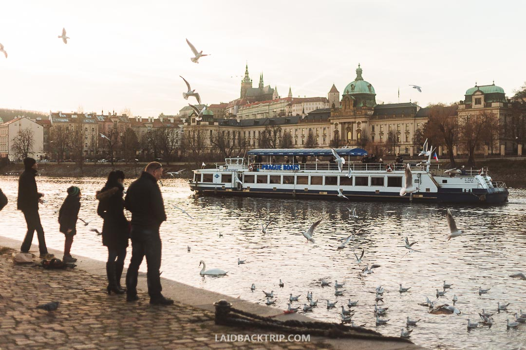 Prague has one of the best public transport systems in the world.