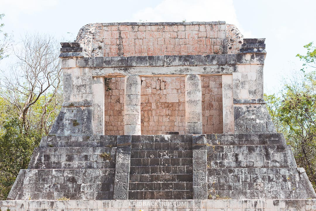 Public transport is one of the ways how to get to Chichen Itza, and it's cheap and reliable.