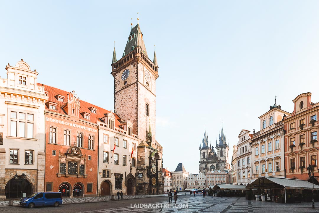 Summer is hot, and prices are high in Prague.