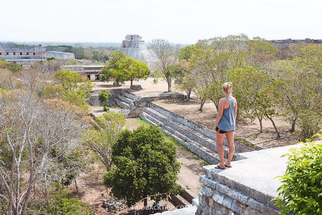 One of the best things to do in Mexico is to visit Uxmal ruins.