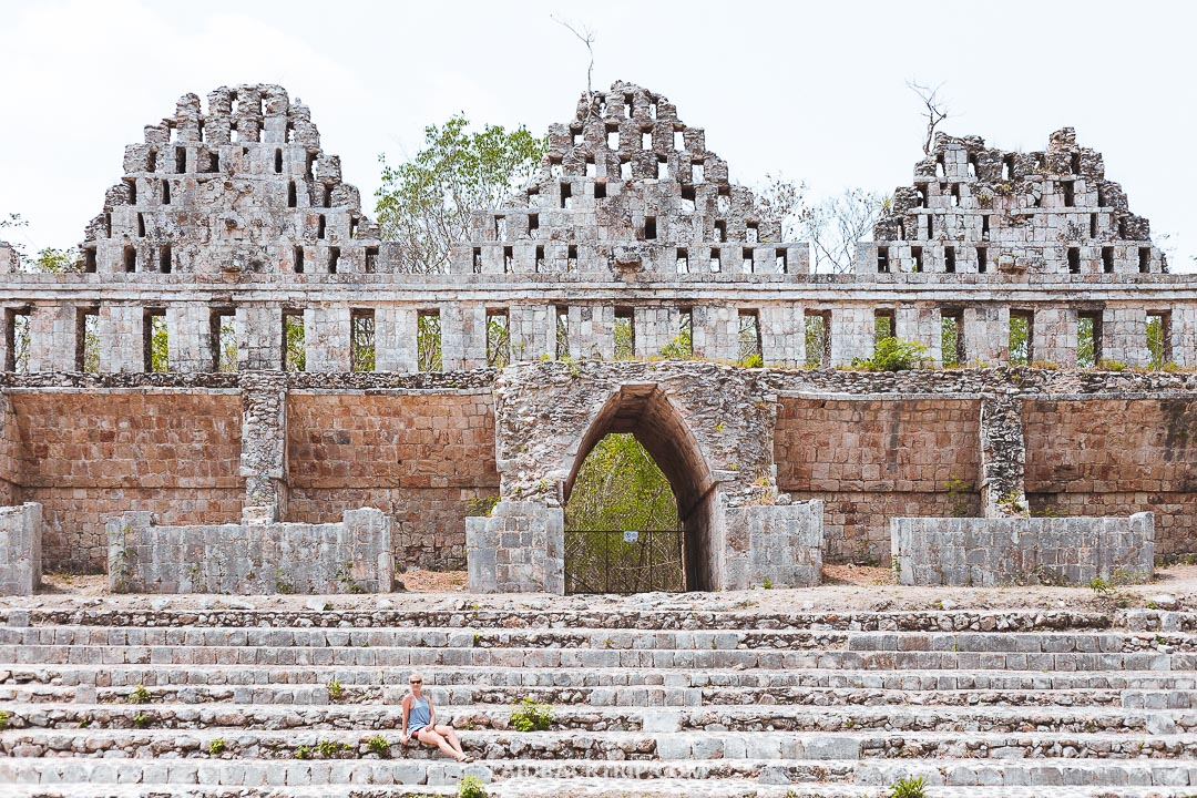 Uxmal ruins used to be a powerful city within the Maya empire.