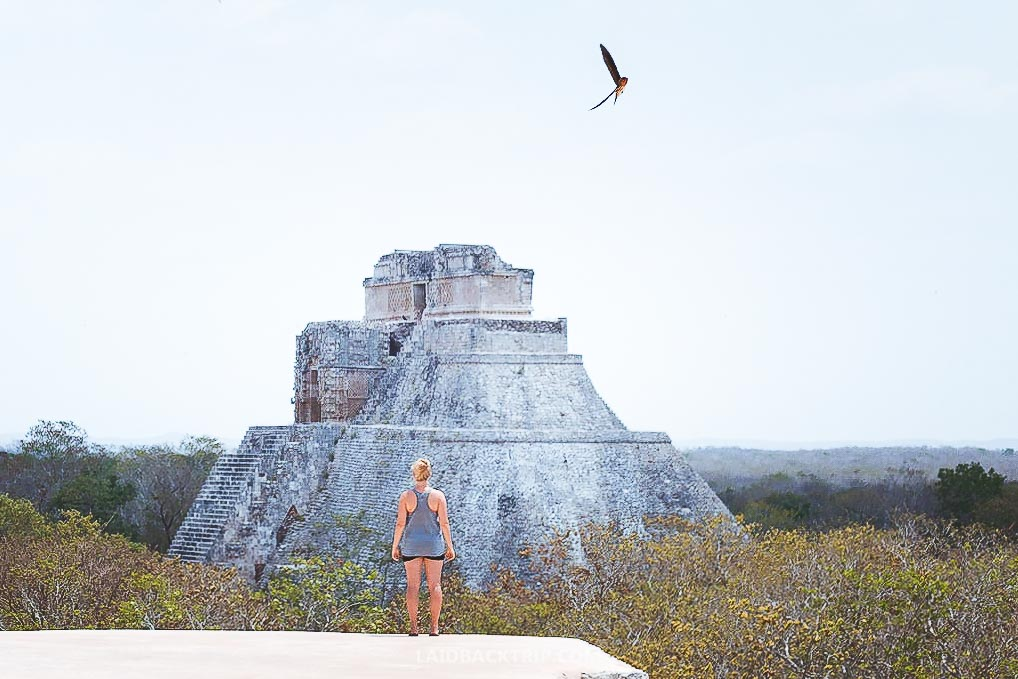 We visited the Uxmal ruins independently, but you can take a guided tour.