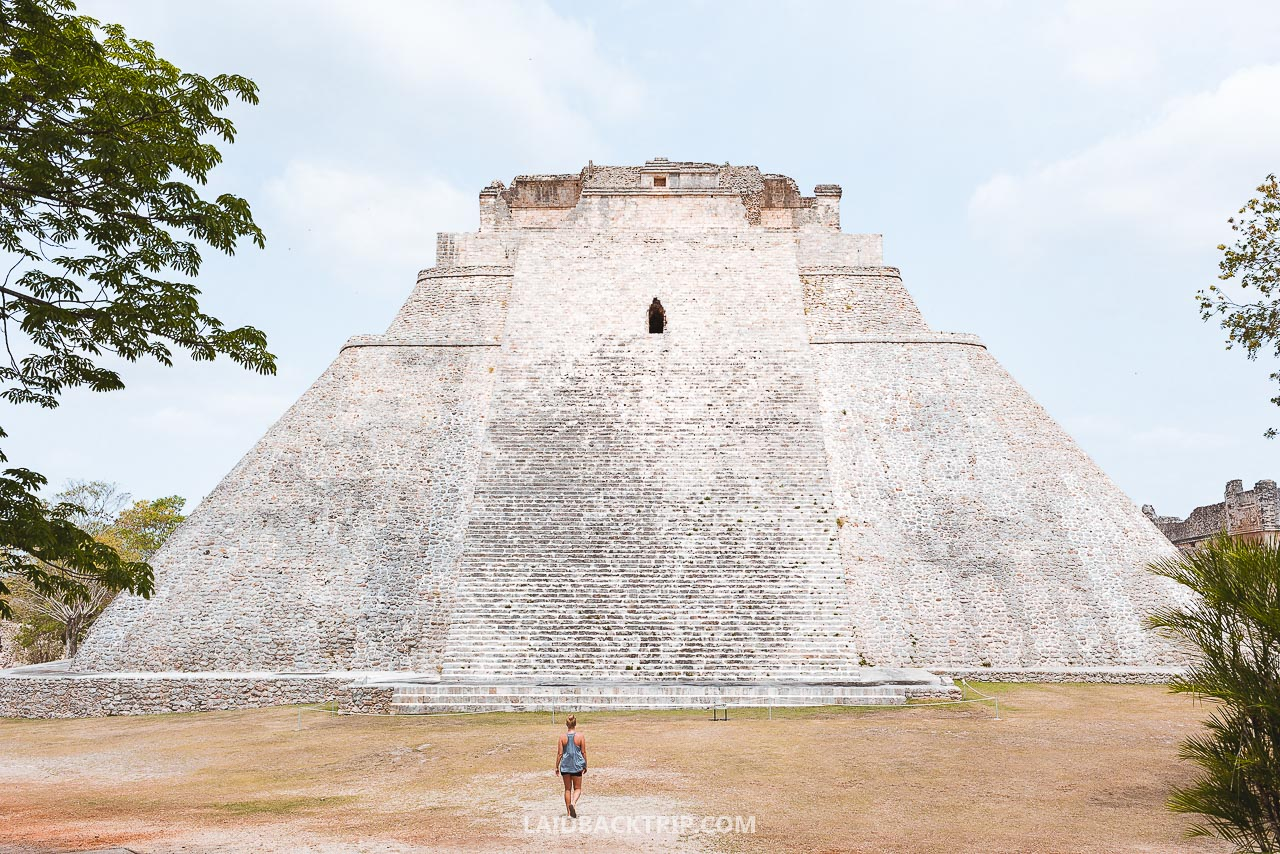 If you get early to the Uxmal, you will avoid tourist crowds.