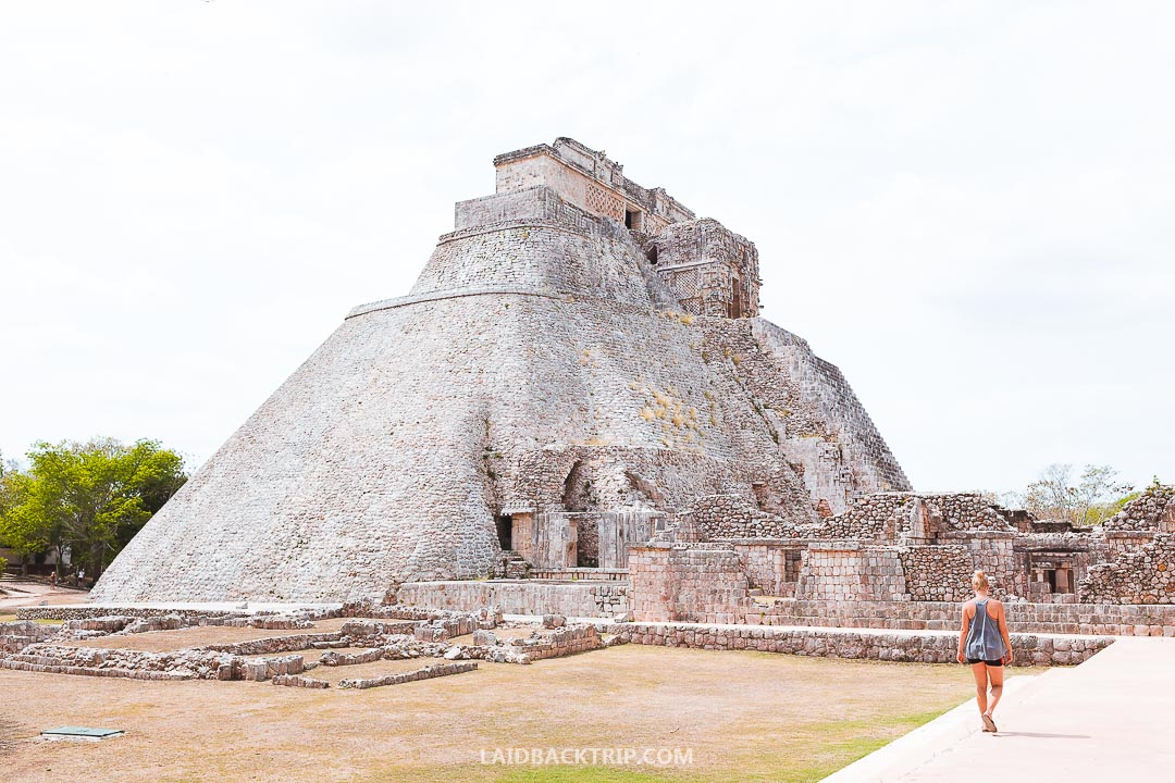 Pyramid of Magician is one of the most beuatiful Mayan structures we've ever seen.