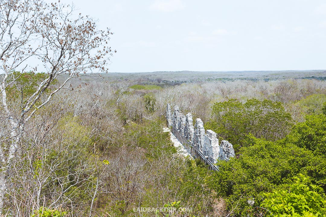 Uxmal is a must visit Maya ruin in while traveling to Mexico.