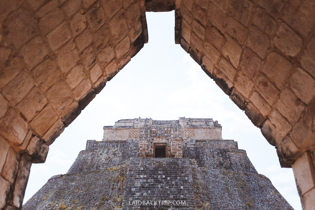 Uxmal is an all year round tourist attraction.
