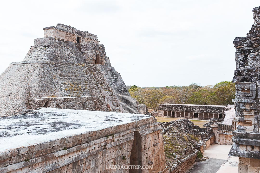 Uxmal is a top attraction in Mexico.