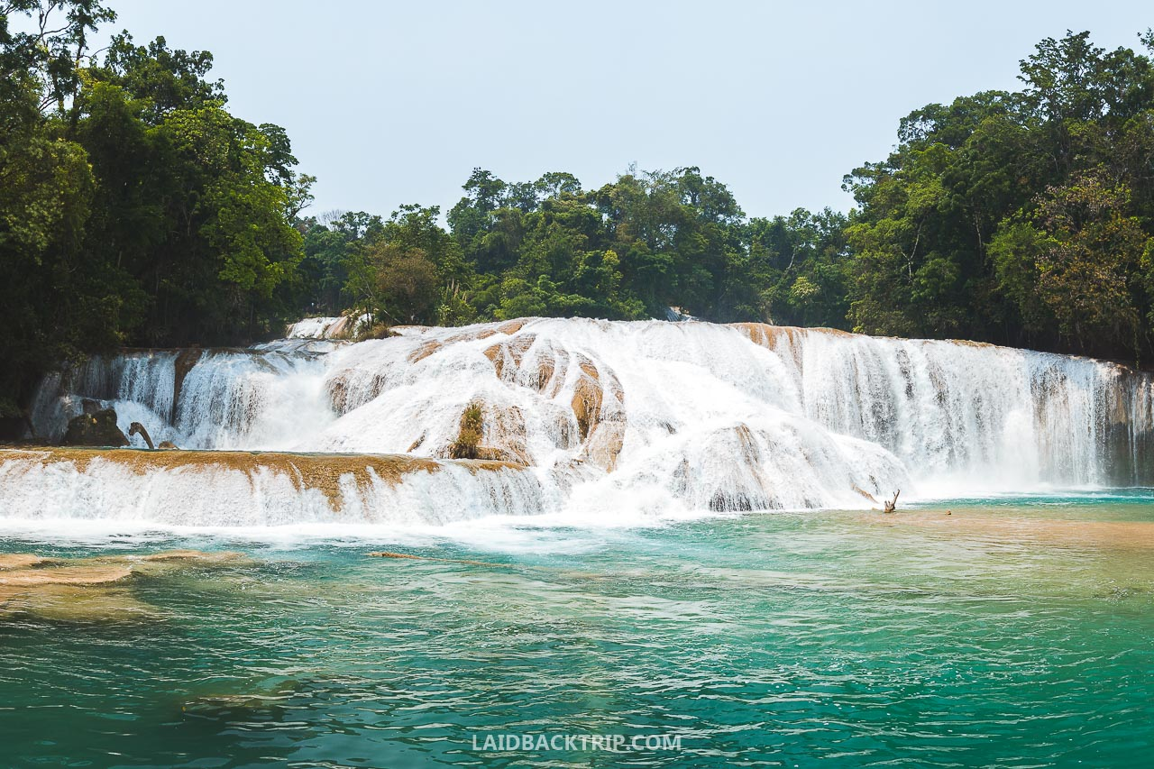 Agua Azul waterfalls in Mexico is an amazing tourist attraction, and this is our travel guide including useful tips and advice.