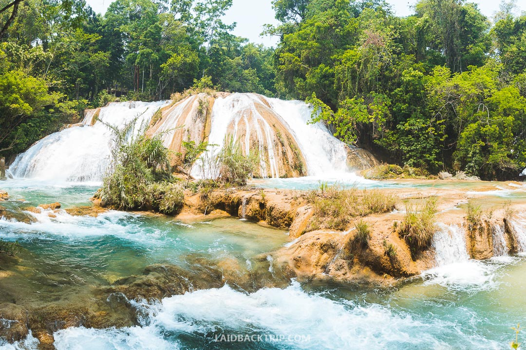 Agua Azul is one of the most beautiful places in Mexico.