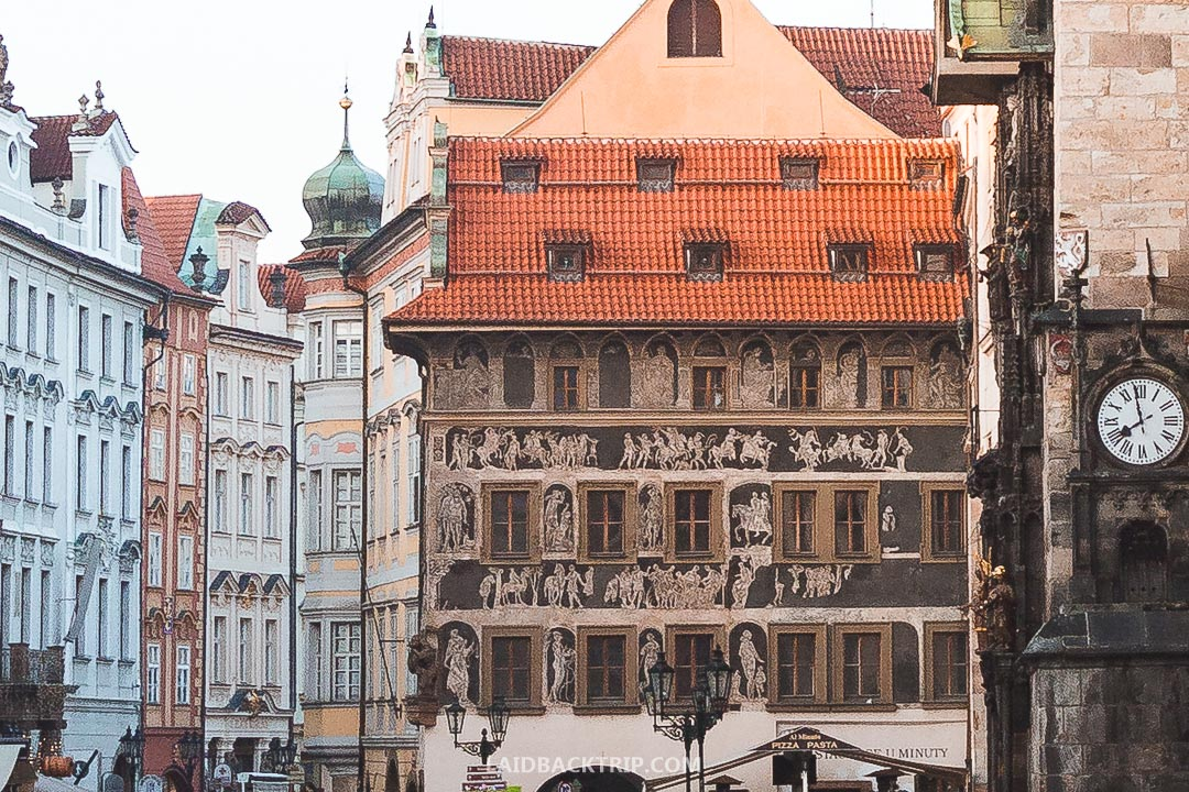 There are many fascinating historical buildings at Old Town Square you can visit.