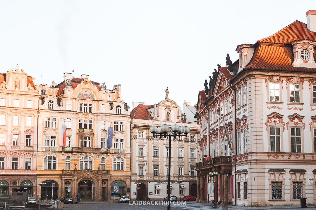 Old Town Square has a long history and hosted many important historical events.
