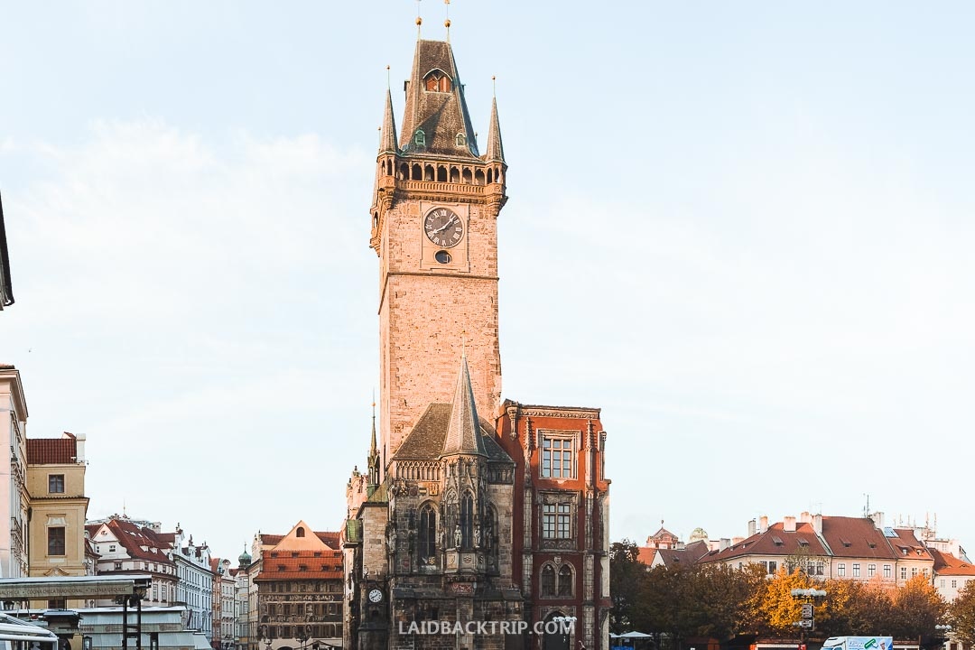 Old Town Square is a magical place in Prague, especially in the morning, where the tourist majority is still sleeping.