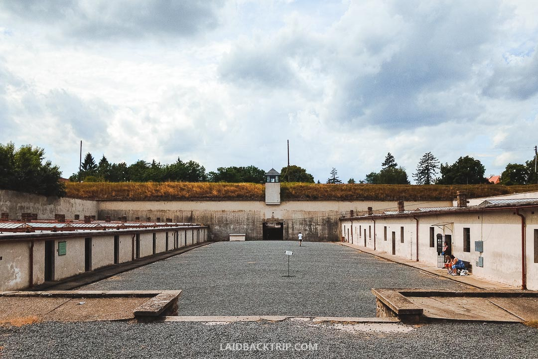 Terezin used to be a concentration camp during the Second World War.
