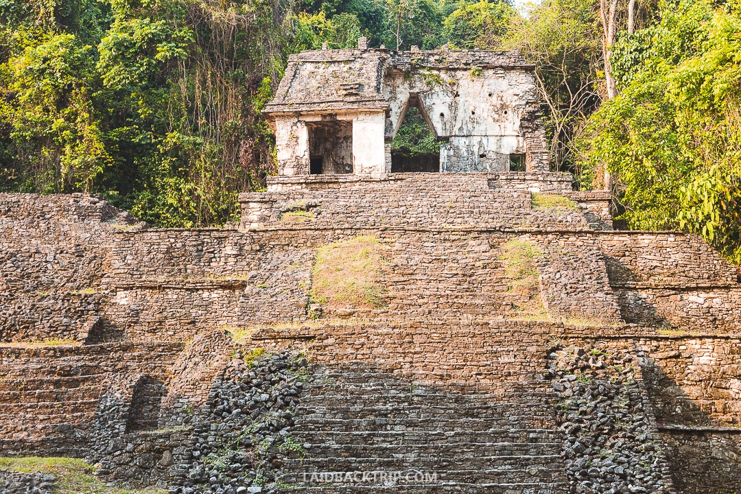 Pack a sunscreen, mosquito repellent and comfy sneakers for exploring Palenque ruins.
