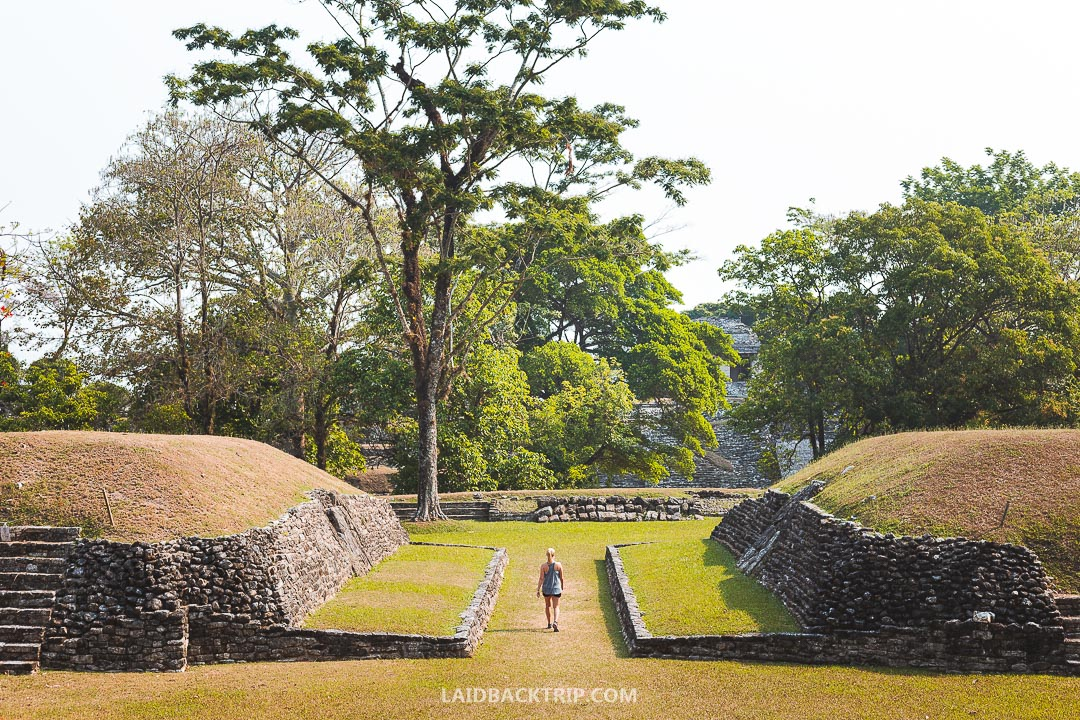 Palenque Ruins are among top attractions in Chiapas state, Mexico.