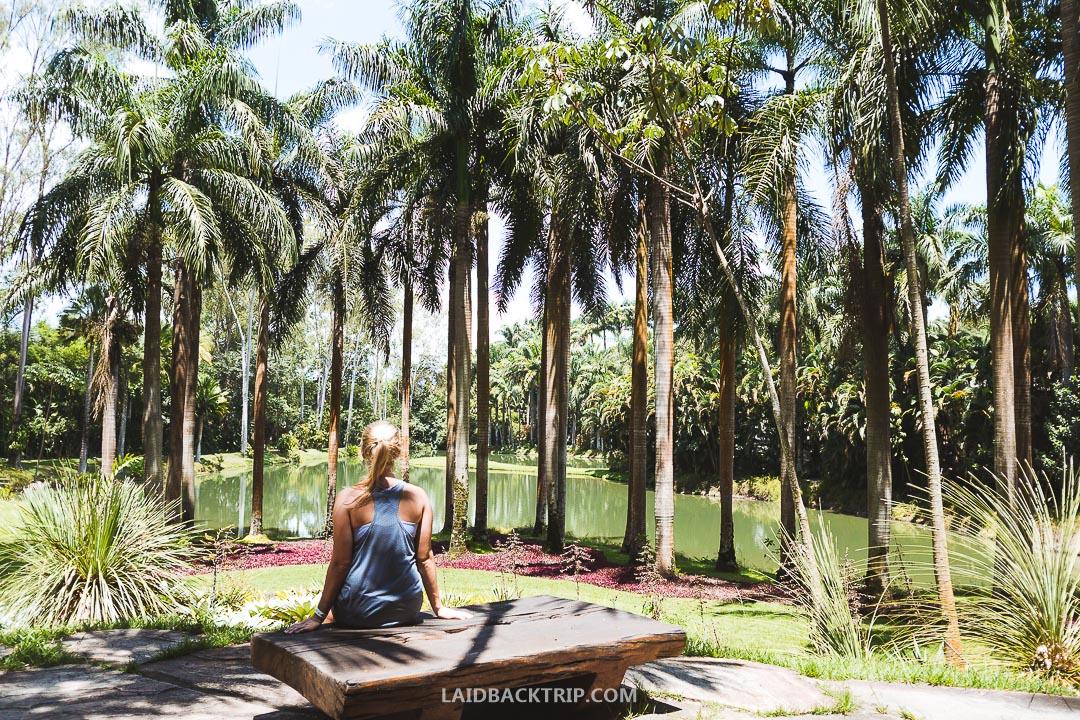 Inhotim is a huge outdoor museum in Brazil 60 kilometers from Belo Horizonte.
