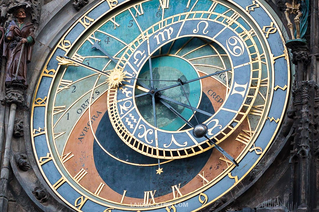 The astronomical clock is one of the most fascinating architecture things in the world.