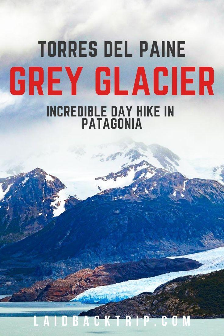 Grey Glacier, Chile