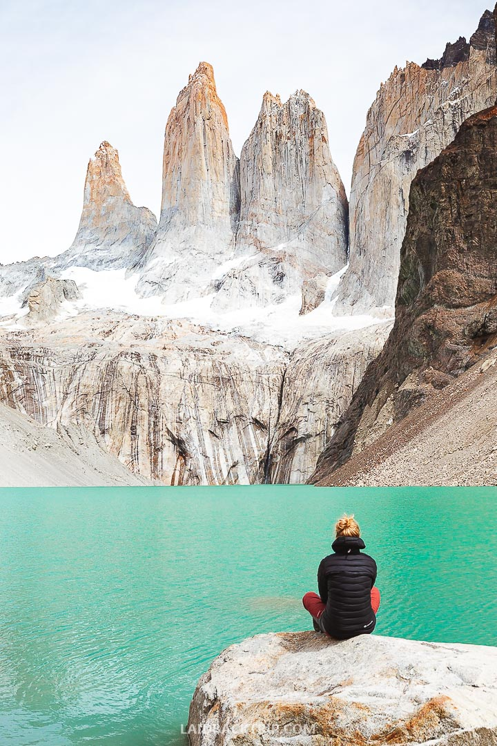 Las Torres hike is the most popular outdoor adventure in the Torres del Paine National Park.