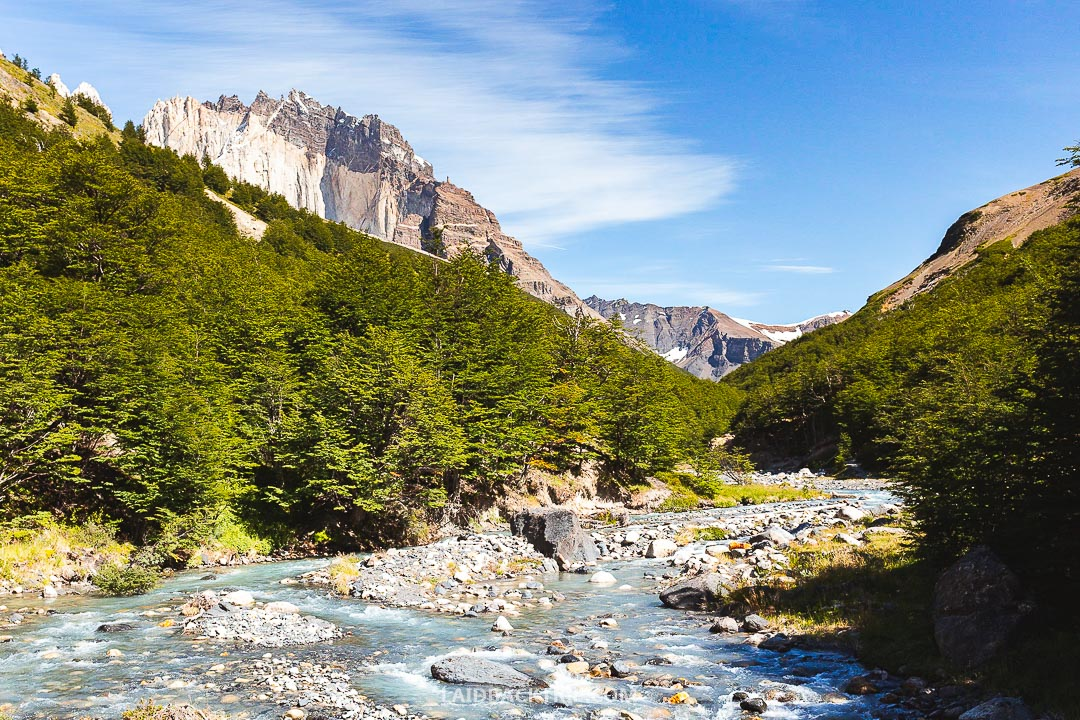 Torres del Paine is one of the most remote places in the world and features excellent hiking trails and opportunities.