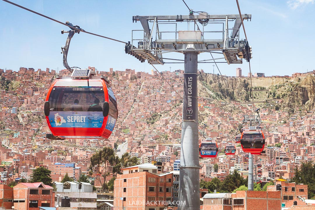 La Paz is the highest capital in the world.