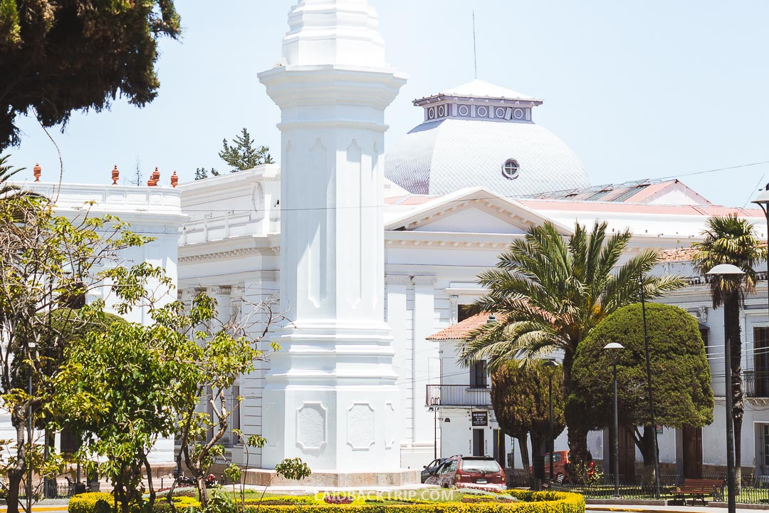 Sucre is often called a white city.