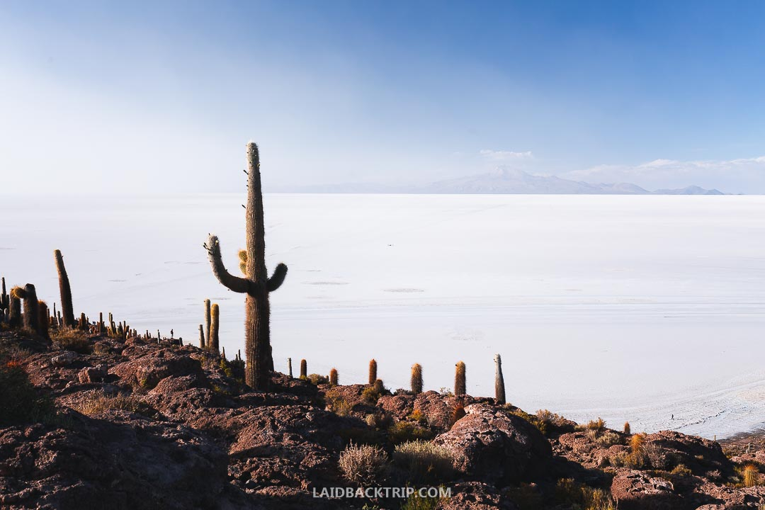 Salar de Uyuni is one of the most surreal places in the world.