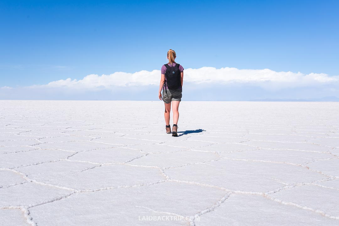 Salar de Uyuni jeep tour was the highlight of our trip to Bolivia.