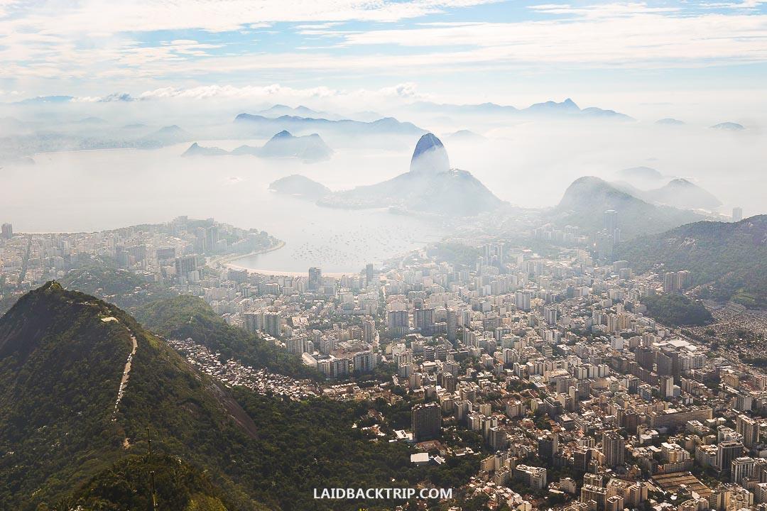 Rio de Janeiro is a home to famous Copacabana beach.