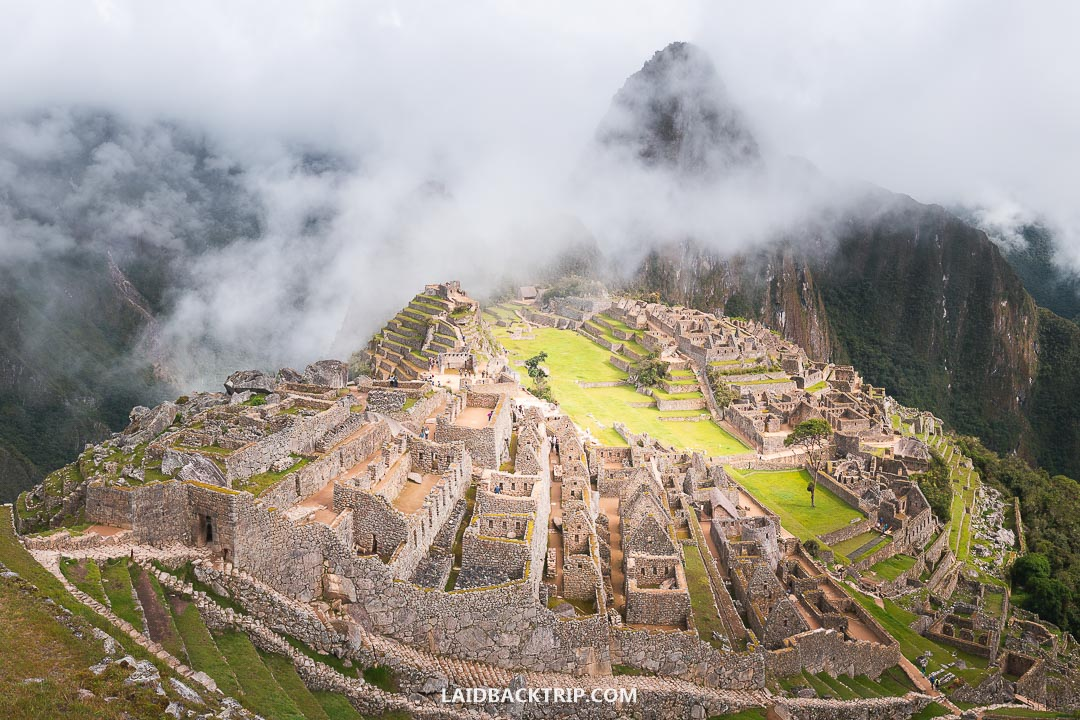 Machu Picchu is the best place to visit in South America.
