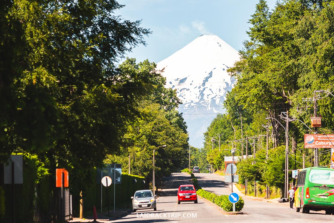 You can rent a bike in Pucon and explore the surrounding on a day trip.