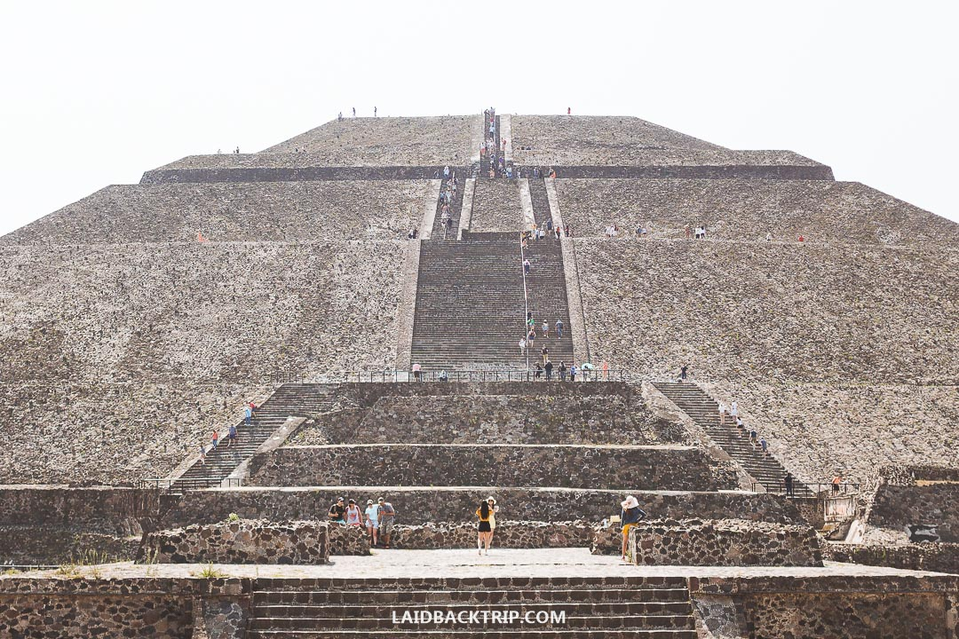 You can visit Teotihuacan independently or with a guided tour from Mexico City.