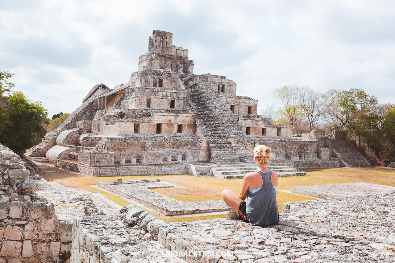 Here is our guide on how to visit off the beaten path Edzna Ruins, Mexico, amazing Maya ruin near Campeche in Yucatan.