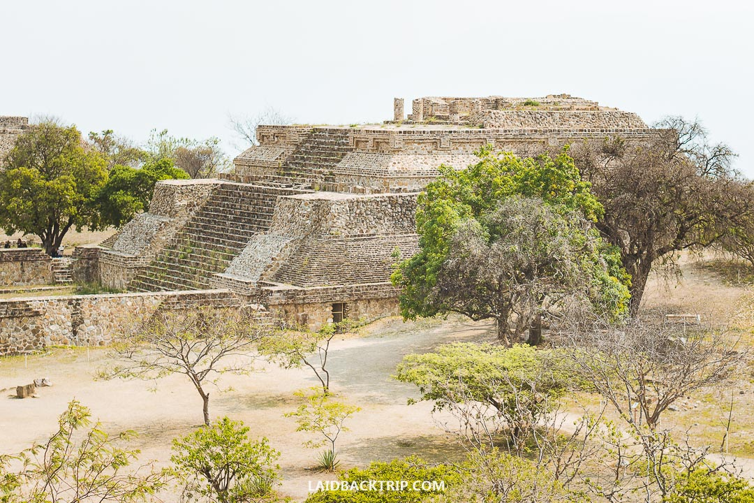 Monte Alban is a top attraction in Oaxaca, Mexico.