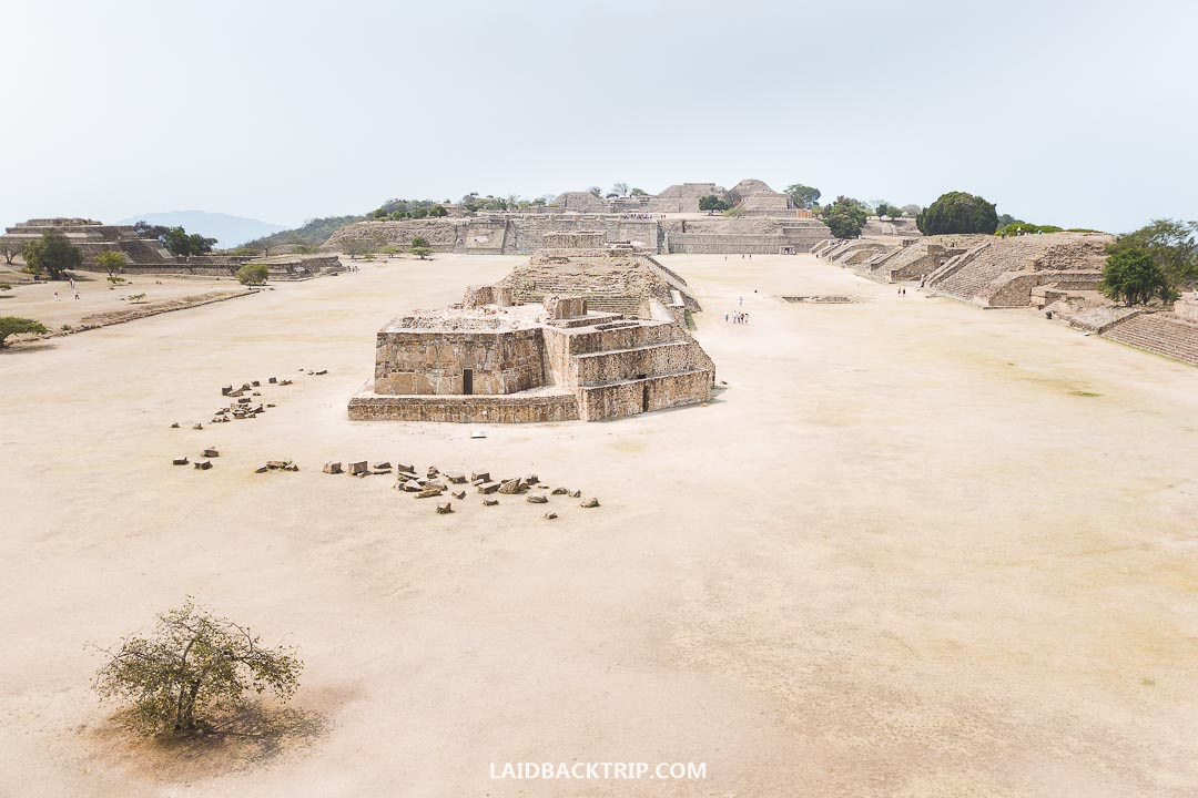 Monte Alban is a must-visit when visiting Oaxaca, Mexico.