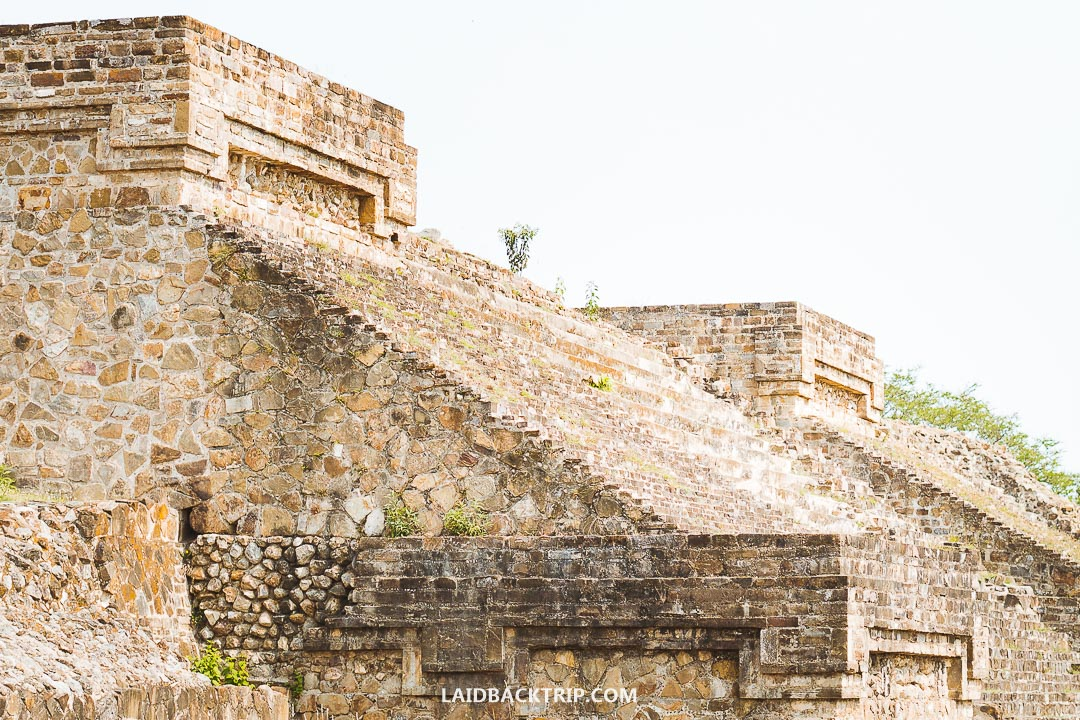 Monte Alban entrance fee is low compared to more famous ruins in Mexico.