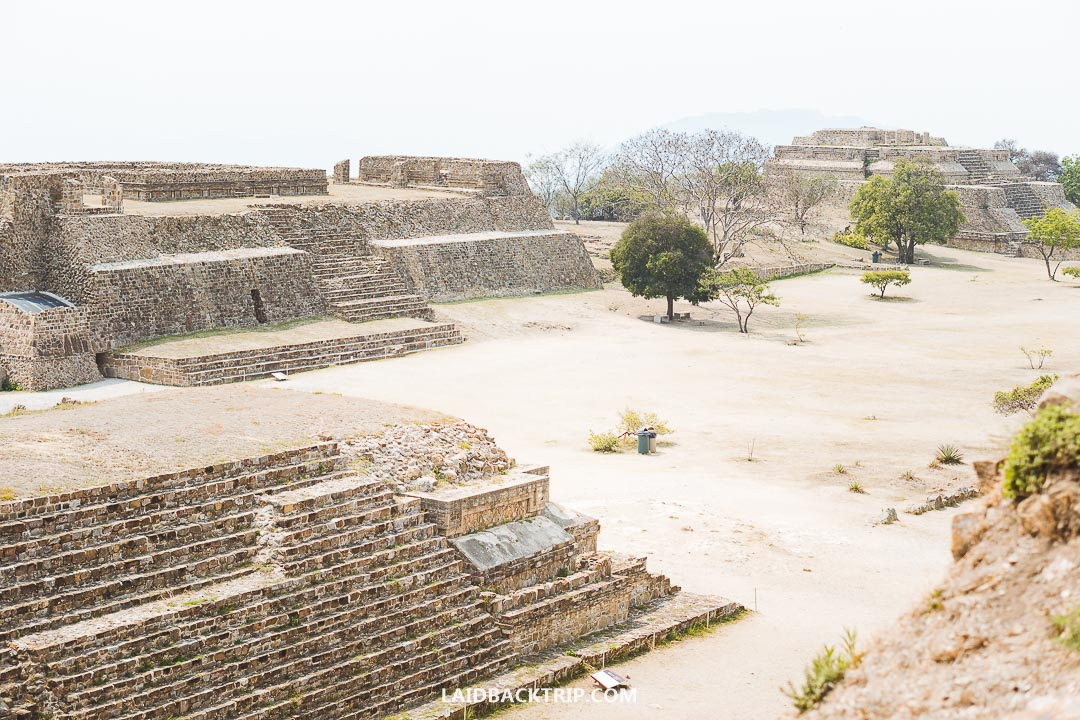 Monte Alban is best visited on a day trip from Oaxaca, where you stay overnight.