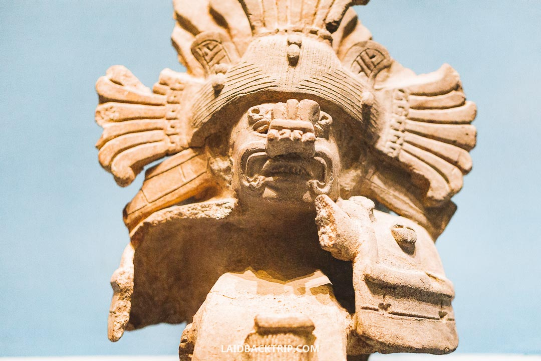 There is also a museum in Monte Alban complex.