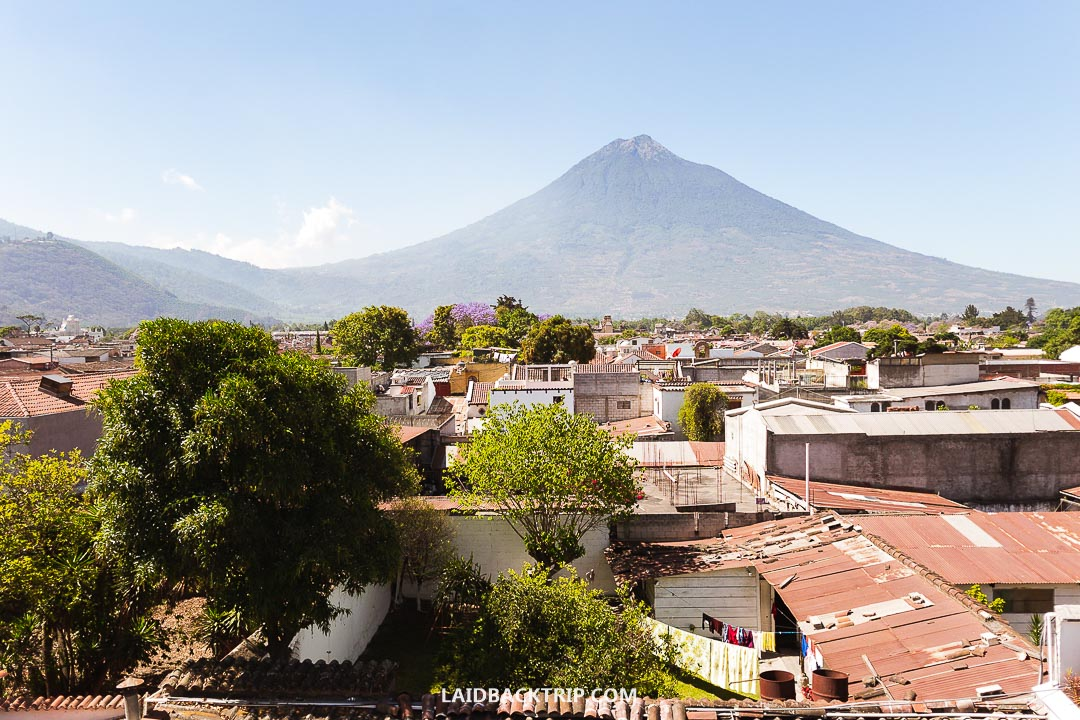 Antigua is the most popular colonial town in Guatemala.