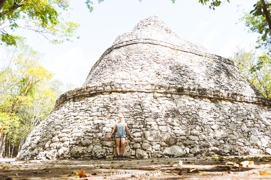 After you visit Coba Ruins, rent a bike and ride to a nearby Cenotes.