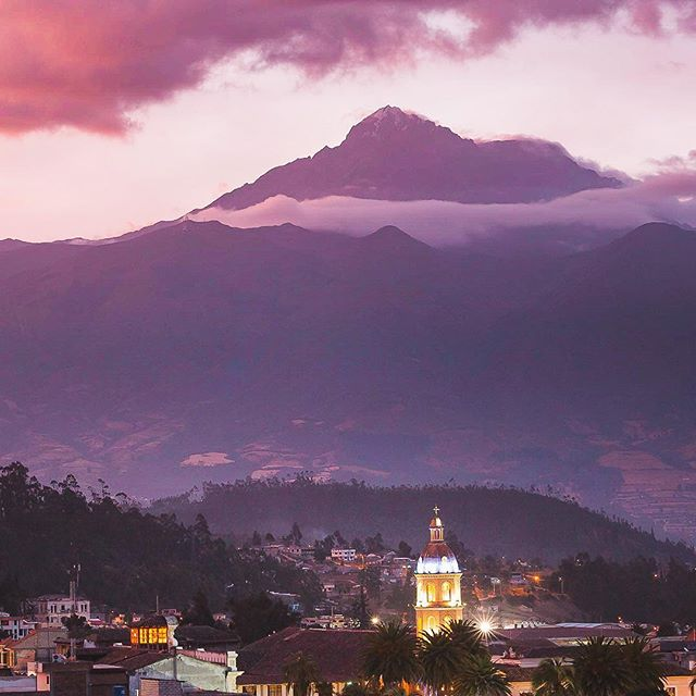 It is amazing to finally have time to go through all photos. This one was taken from a rooftop terrace in our hostel in Otavalo, Ecuador. We could get used to seeing more sunsets like this one... #otavalo #otavalomarket #otavaloecuador #ecuador🇪🇨 #ecuadortravel_ig #minveciviczazitku #cestuj #ikoktejlcz #suitcasetravels #welltraveled #welivetoexplore #finditliveit #passionpassport #bestplacetogo #southamerica #amazingplaces #destination_wow #cityscape #travelismylife #photooftheday #landscapephotography #moreviews #awesome_earthpix #lonelyplanet #wheretogonext #girlswhotravel