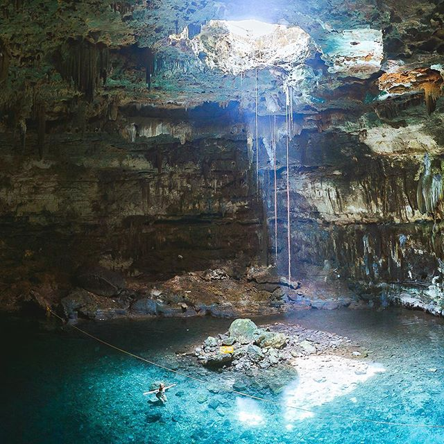 We were not able to visit all cenotes in Mexico as only Yucatan has over 6000 of them, but those we saw and swam in were amazing!  #yucatan #yucatanmexico #cenote #sinkhole #travelmexico #thediscoverer #letsgoeverywhere #exploremore #beautifuldestinations #folkscenery #mytinyatlas #roamtheplanet #exploreobserveshare #wanderoften #suitcasetravels #darlingescapes #passionpassport #speechlessplaces #iamatraveler #welivetoexplore #welltraveled #openmyworld #traveldeeper #finditliveit #theglobewander #postcardplaces