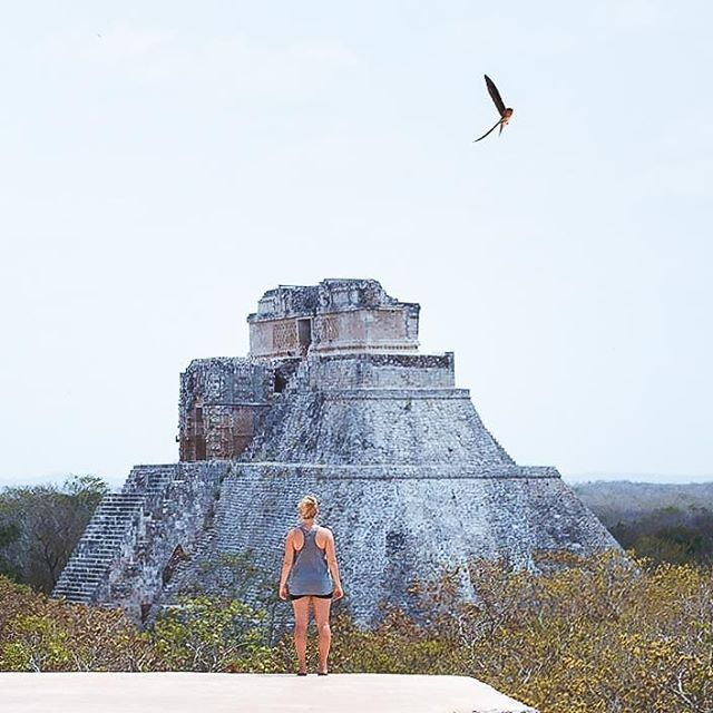The old Mayan architecture will never stop amaze us. During our time in Mexico we've visited uncountable ruins including the famous Chichen Itza, but this one is still our favorite.  #uxmal #uxmalruins #ruins #mayanruins #mexico #travelmexico #amazingplaces #postcardplaces #architecture_best #folkmagazine #ikoktejlcz #yucatan #cntraveler #minveciviczazitku #bestviews #photo_of_the_day #dreamcatcher #wandermore #ichosetowander #lonelyplanet #destination_wow #planetdiscovery #wetraveltoo #aroundtheworldpix #finditliveit #adventureon