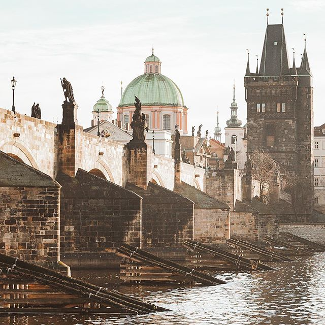 It feels good to be back home.  We've been living in Prague on and off for almost a decade now, and it is still one of our favorite places in the world.  New post 3-day Prague itinerary in Bio.  #prague #visitprague #travelczechrepublic #charlesbridge #charlesbridgeprague #minveciviczazitku #cityscape #beautifulcities #visitczechrepublic @visitcz #ikoktejlcz #europeescape #finditliveit #openmyworld #thediscoverer #letsgoeverywhere #placestovisit #wanderlust #exploremore #bestshotz #bridge #architecture_best #praguewalks #instaprague #streetwandering #destination_wow