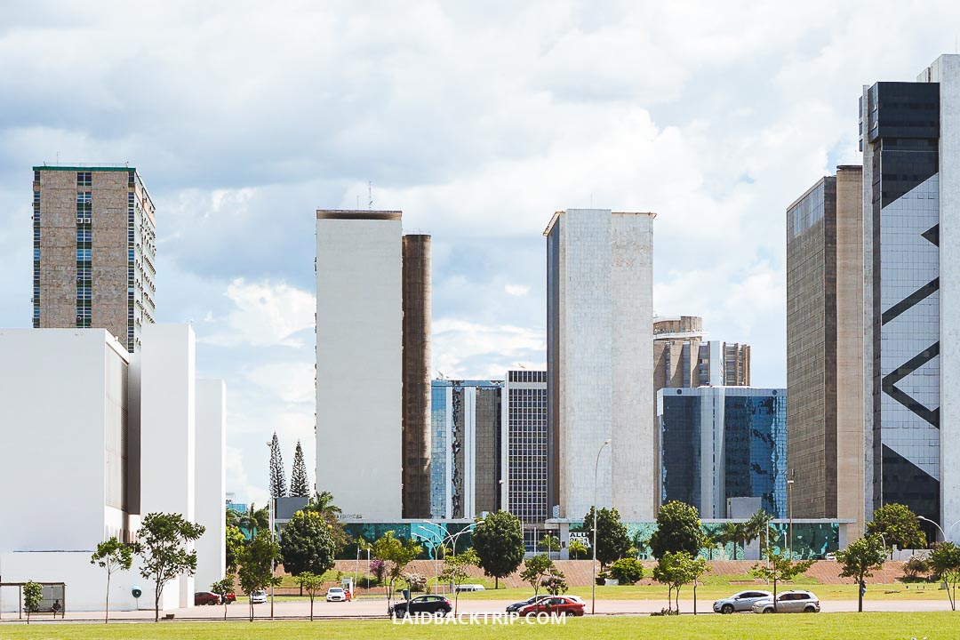 Brasilia is not a typical tourist city.