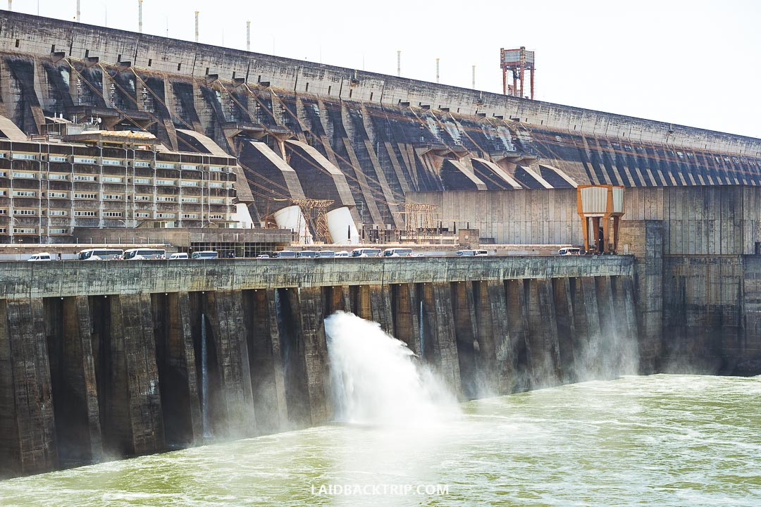 Itaipu Dam is a top attraction in Paraguay and Brazil.