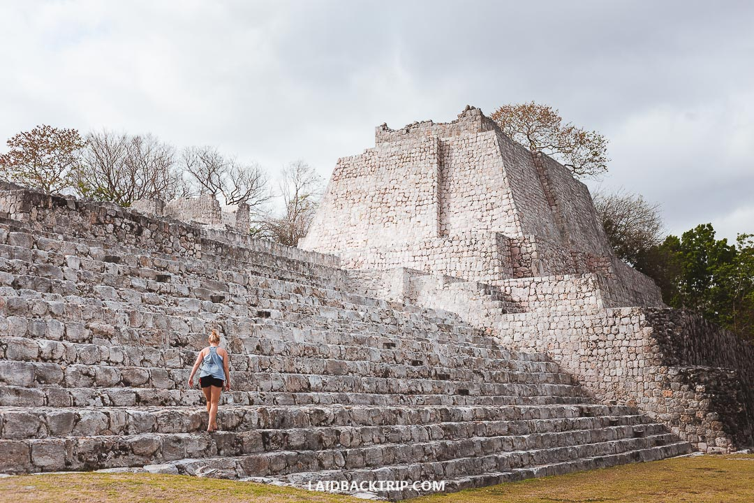 Edzna Ruins is a great place to visit without the tourist crowds.