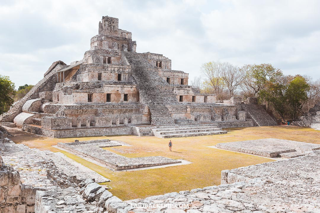 Edzna is one of the best Mayan ruins you can visit in Mexico.