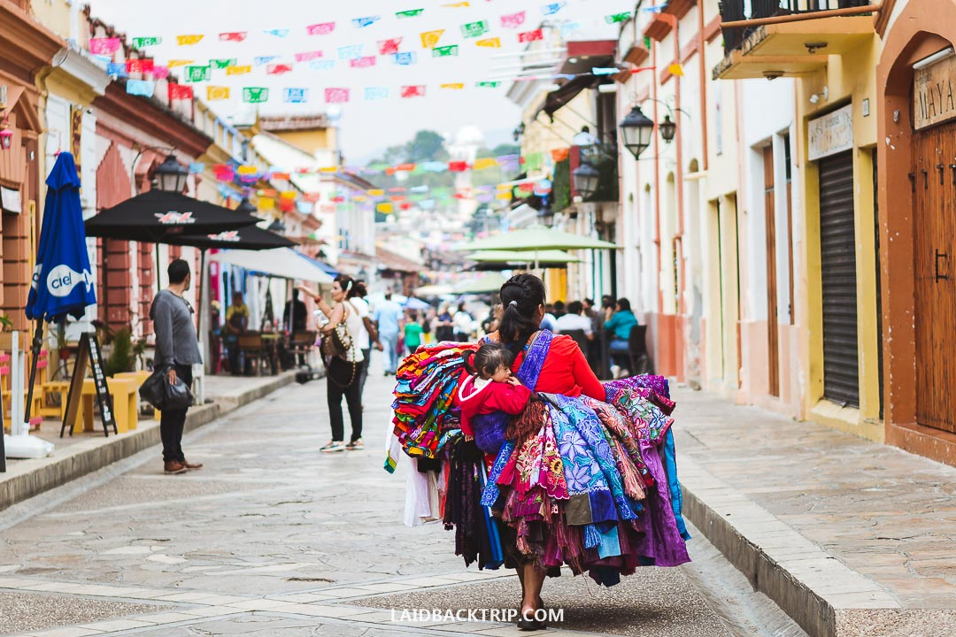 San Cristobal is a popular colonial city in Mexico.